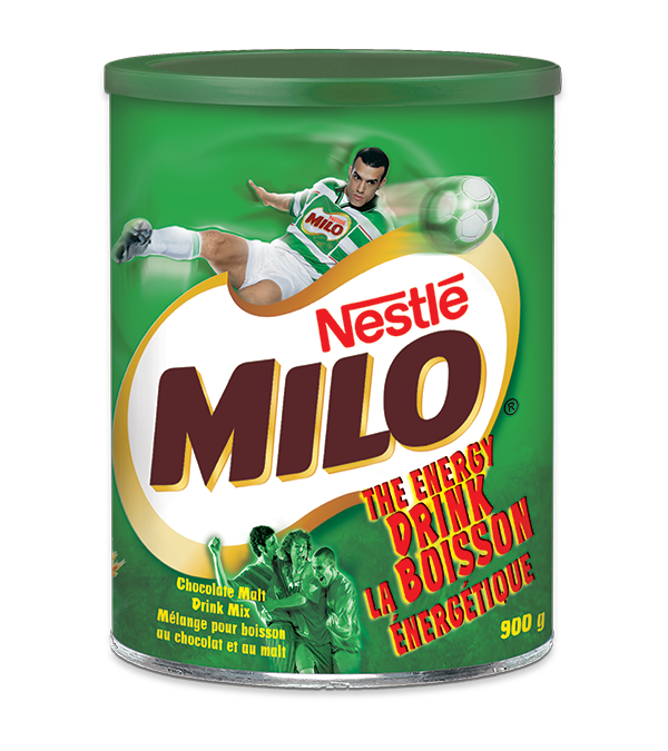 MILO Chocolate Malt Drink mix, 900 grams.