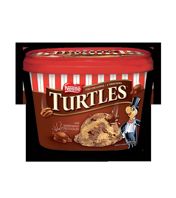Crème glacée TURTLES, 1,5 litre.