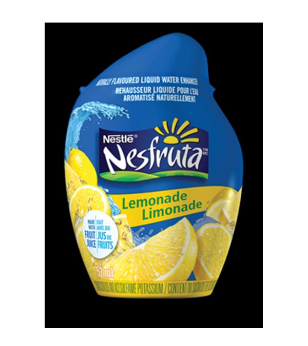 Limonade NESFRUTA, rehausseur d'eau liquide à saveur naturelle, 52 ml donne 26 portions.