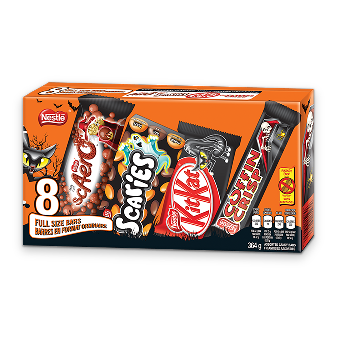 NESTLÉ Halloween Scaries Assorted Multipack.