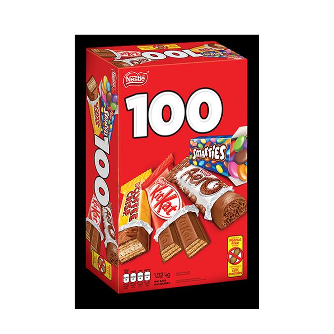 NESTLÉ minis 100 count, 1.02 kg