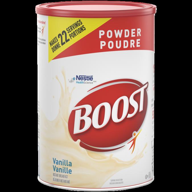 BOOST Powder Vanilla, 880 grams.