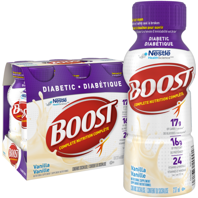BOOST Diabetic - Vanilla, 237 ml.