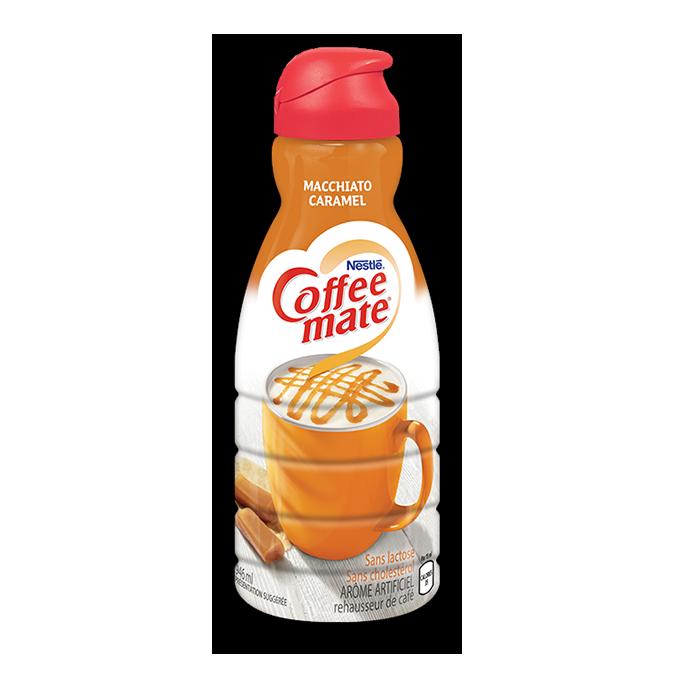 COFFEE-MATE Macchiato au caramel, 946 ml