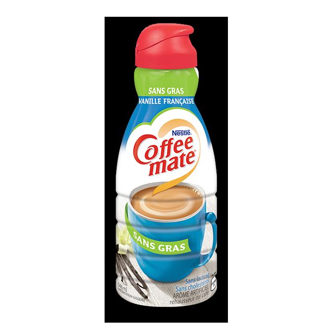 COFFEE-MATE Vanille française sans gras, 946 ml.