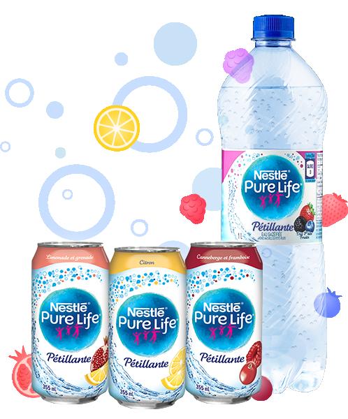 Nestlé Pure Life Sparkling | faitavecnestle.ca