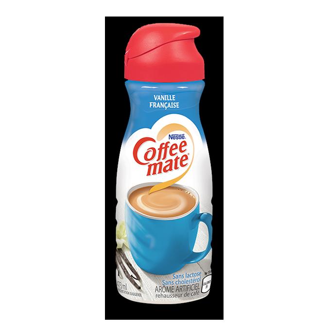 COFFEE-MATE Vanille française, 473 ml. Sans lactose et sans cholestérol!