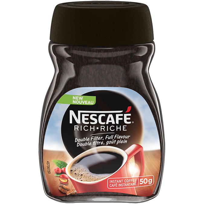 NESCAFÉ Rich Instant Coffee, 50 grams.