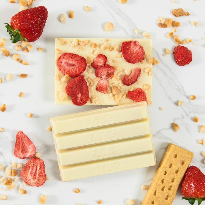 KIT KAT Chocolatory Spring Shortcake Limited Edition Flavour
