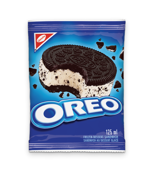 OREO Frozen Desert Sandwich, 125 ml.