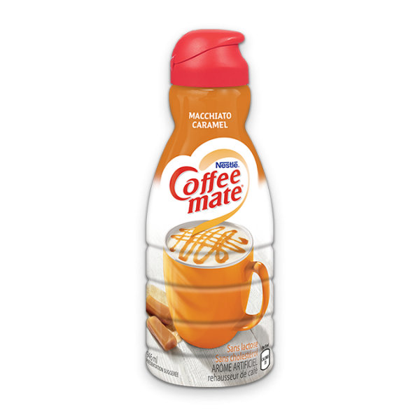 COFFEE-MATE Macchiato au caramel, 946 ml