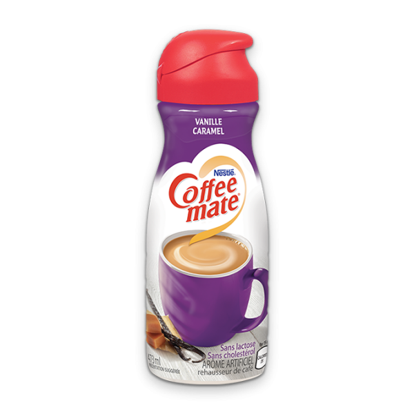 COFFEE-MATE Caramel Vanille, 473 ml.
