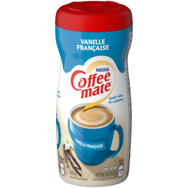 COFFEE-MATE Vanille française, 425 grammes.