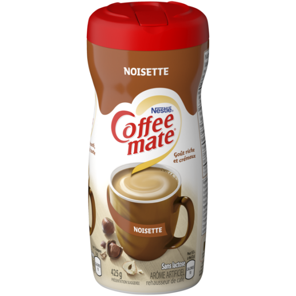 COFFEE-MATE Hazelnut Powder, 425 grammes.