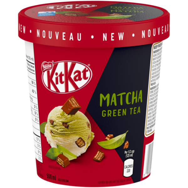 KITKAT Matcha Green Tea Ice Cream, 500 ml.