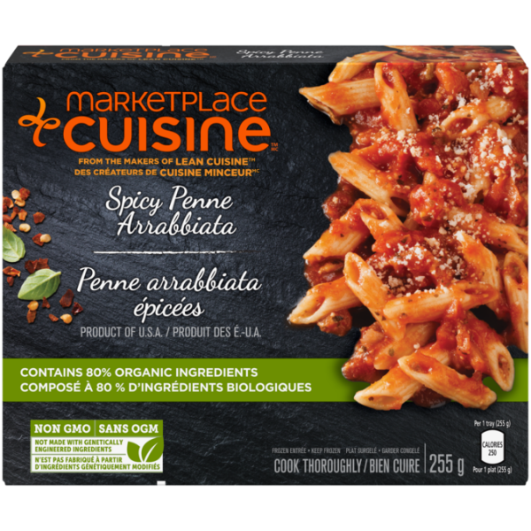 MARKETPLACE CUISINE Spicy Penne Arrabiata, 255 grams.