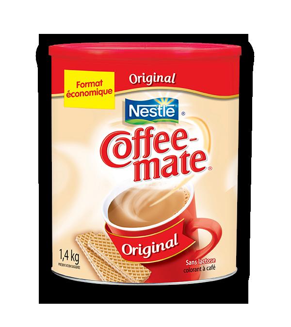 COFFEE-MATE 50% moins de gras, 1,4 kg.