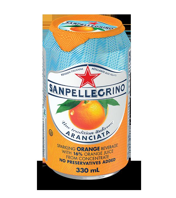 San pellegrino boisson italienne p tillante aux fruits aranciata rossa canettes de 330 ml for Marque de nourriture italienne