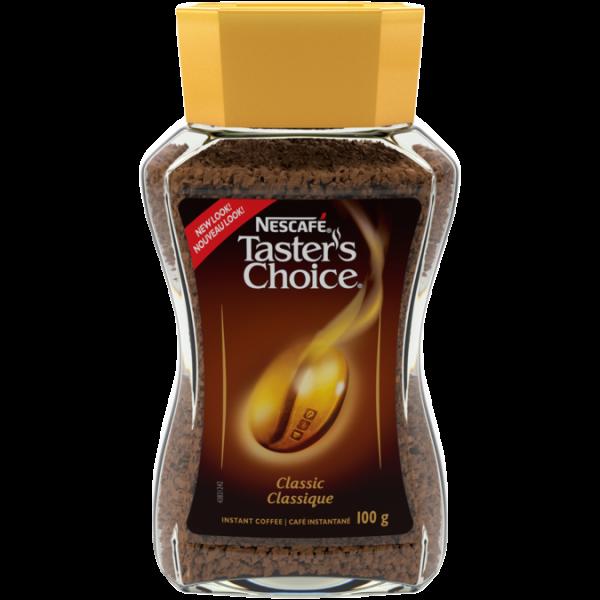 NESCAFÉ Taster's Choice Classic Instant Coffee, 100 grams.