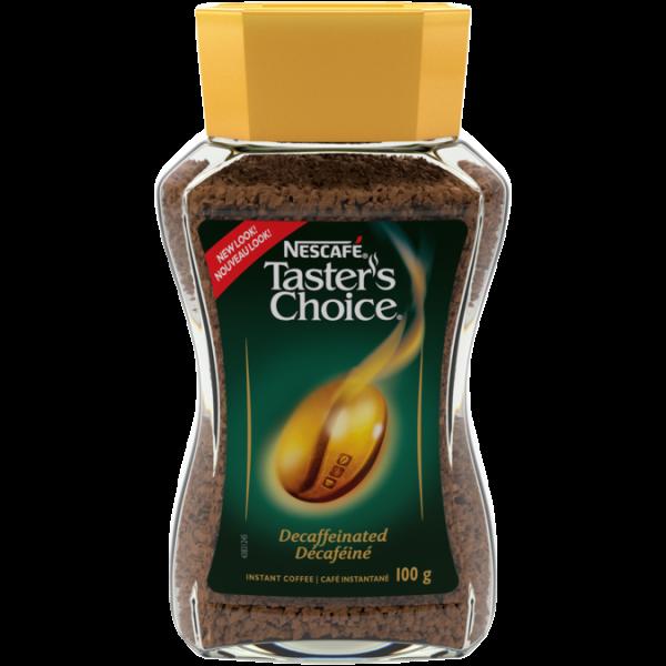 NESCAFÉ Taster's Choice Decaf Coffee, 100 grams.