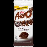 Barre de chocolat AERO® Noir 70 % de cacao en format familial