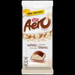 Barre de chocolat AERO® Blanc en format familial