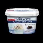 LA VRAIE CRÈME Yogourt grec glacé Biscuits et crème de rêve
