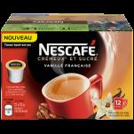 NESCAFÉ Crémeux et sucré Vanille française Capsules de café