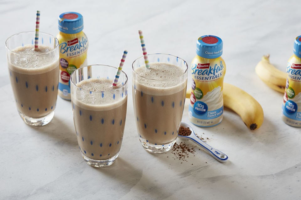 Banana Supreme Shake Recipe. A delicious way to start your day with this delicious smoothie.