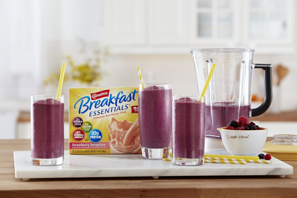 Berry Smoothie recipe. This is a berry, berry yummy drink for smoothie lovers.