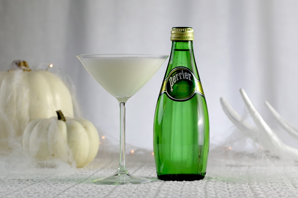 PERRIER Ghost Martini cocktail recipe