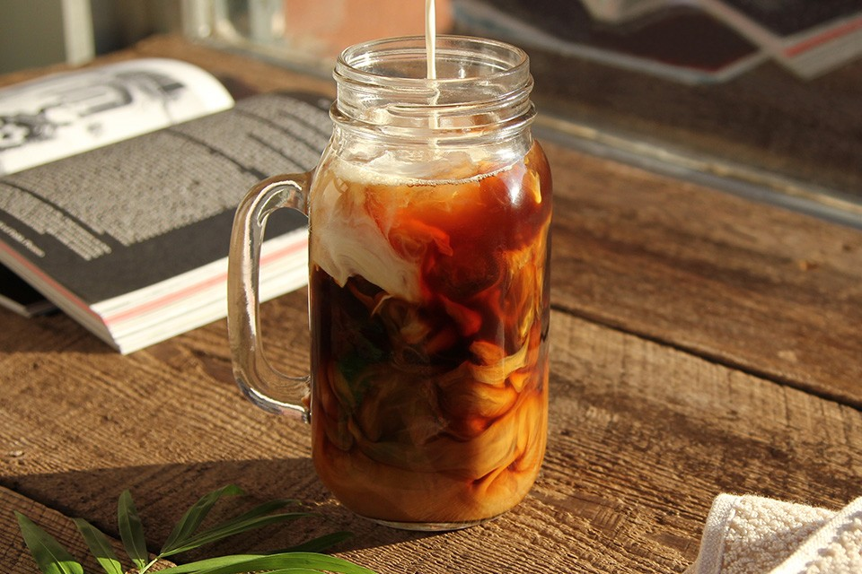 Wake Up Call drink recipe. Over half your daily calcium and all the caffeine you need.