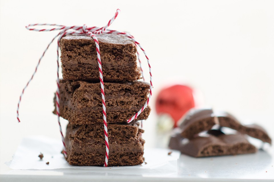 AERO Brownies recipe. These delicious brownies are filled with gooey, AERO milk chocolate.