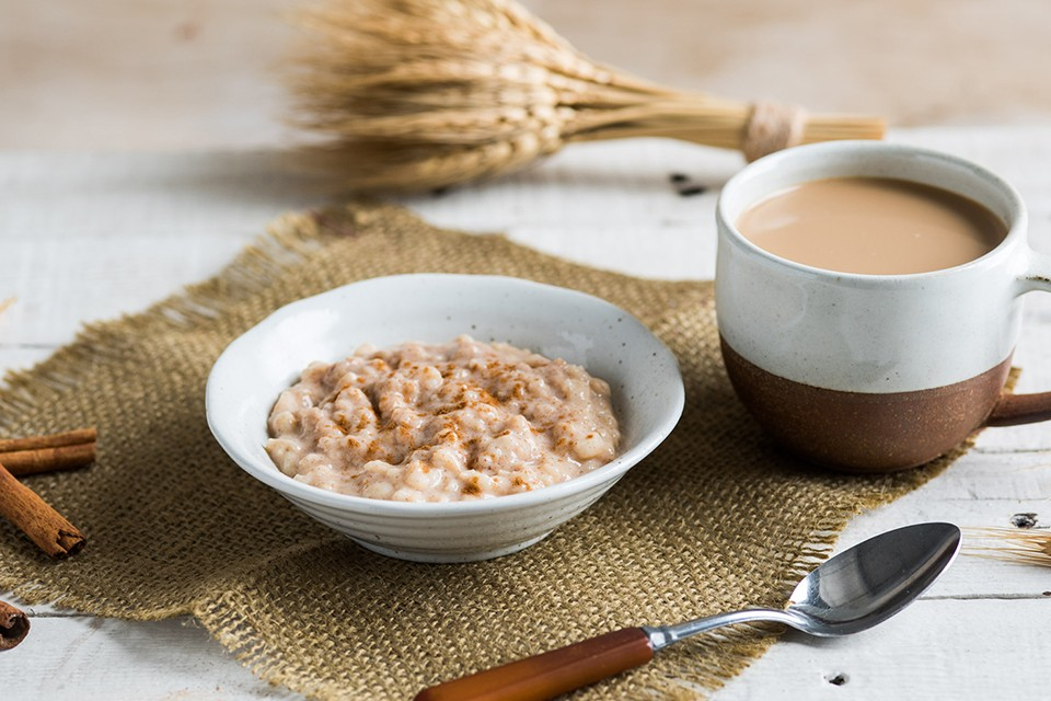 Pumpkin Spice Rice Pudding recipe. A warm and creamy Fall favourite.