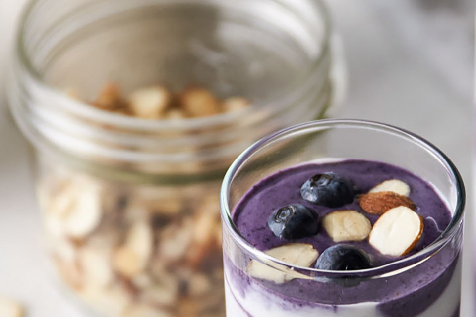 Hidden Veggie Blueberry Protein Smoothie Recipe. A healthy yet tasty addition to your breakfast.