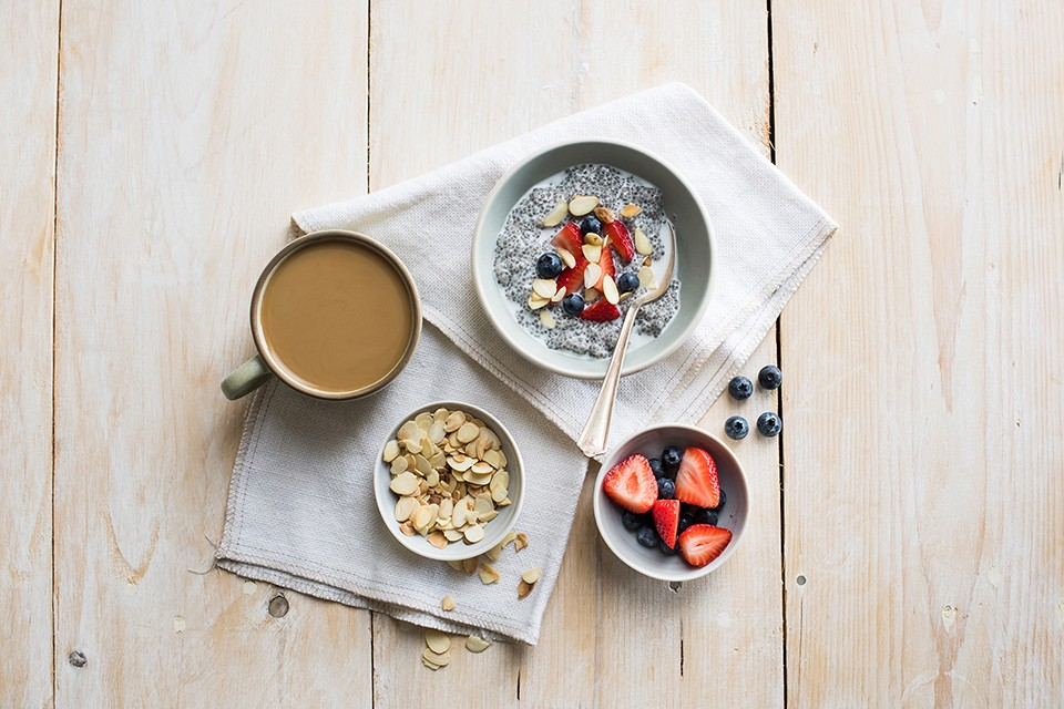 Vanilla Almond Chia Pudding recipe. Ultra simple and super tasty this chia pudding makes a perfect protein filled snack.