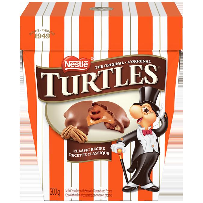 TURTLES Classic Recipe, 200 grams.